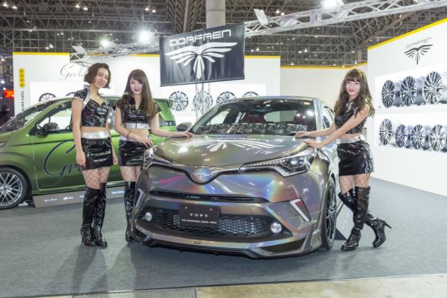 「TOKYO AUTO SALON 2018」に出展致しました。