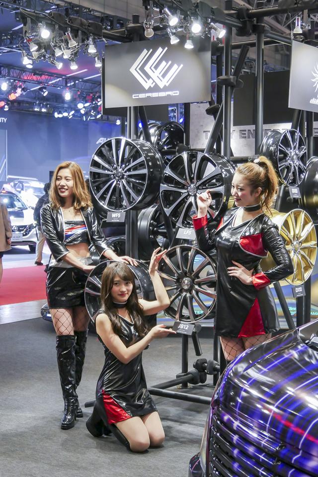 「TOKYO AUTO SALON 2019」に出展致しました。